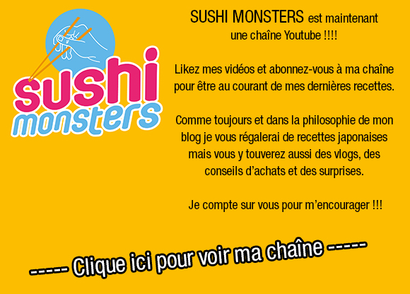 Sushi Monsters #Blog #Recettes #Japon